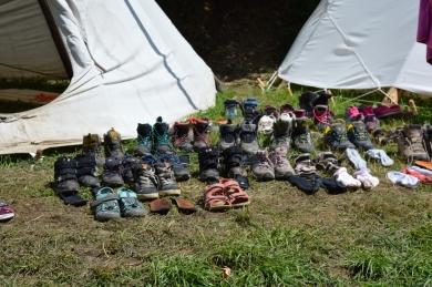 sušíme topánky
